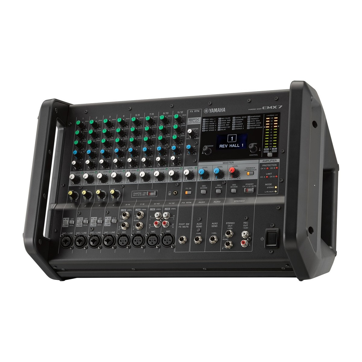 Yamaha emx7 powered analog mixer at for Yamaha powered mixers