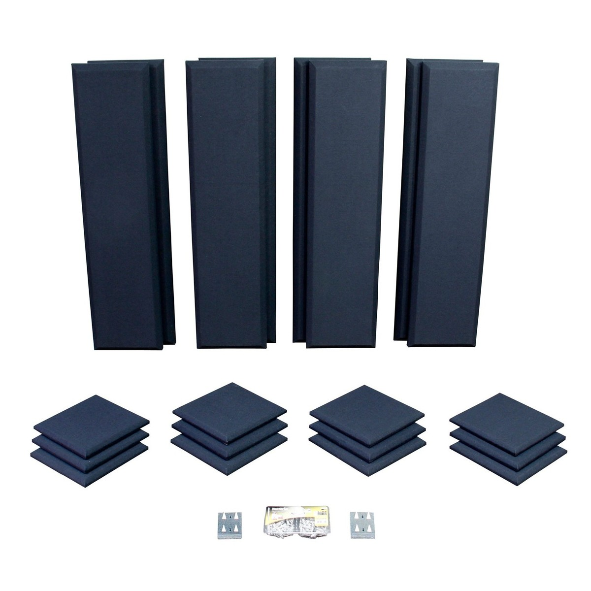 Click to view product details and reviews for Primacoustic London 10 Room Kit In Black.