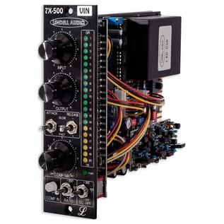 Lindell Audio 7X500VIN 500 Series Compressor - Angled