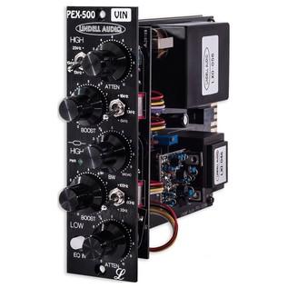 Lindell Audio PEX500VIN 500 Series EQ - Angled