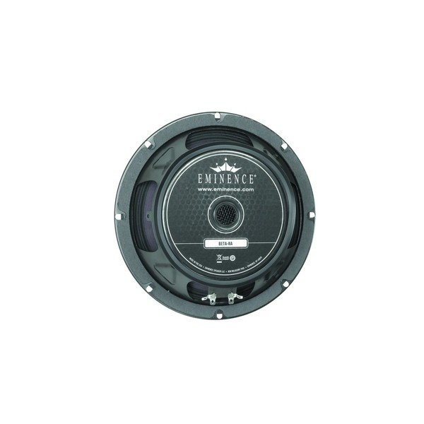 "Eminence Beta-8A, 8"", 225W, 8 Ohms Rear"