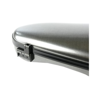 BAM 2003XL Hightech Cabine Violin Case, Tweed Effect Close Up View