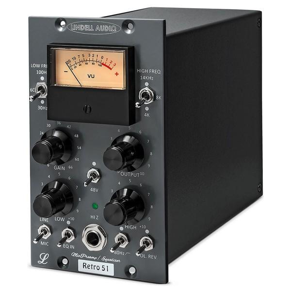 Lindell Audio Retro 51 500 Series Pre EQ - Angled