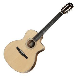 Taylor 214ce Grand Auditorium Nylon Electro Acoustic Guitar (2017)
