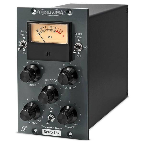Lindell Audio Retro 76X 500 Series Compressor - Angled