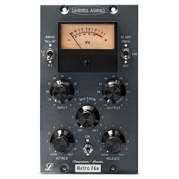 Lindell Audio 76X 500 Series Compressor - Front