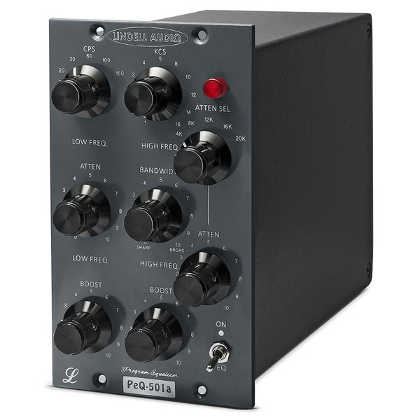 Lindell Audio PEQ501A 500 Series EQ - Angled