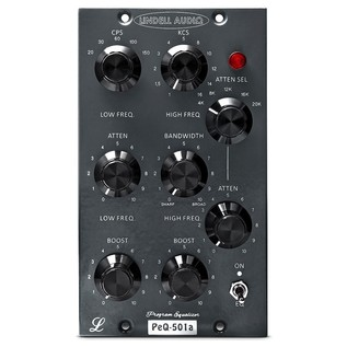 Lindell Audio Pultec 500 Series EQ - Front