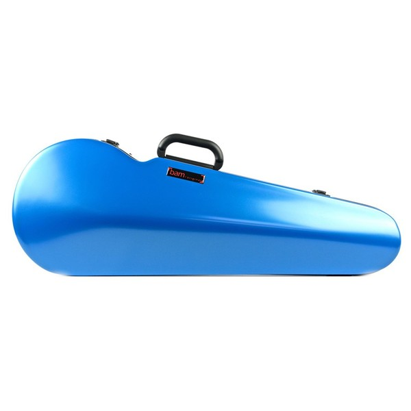 BAM 2200XL Hightech Shaped Viola Case, Azure Blue