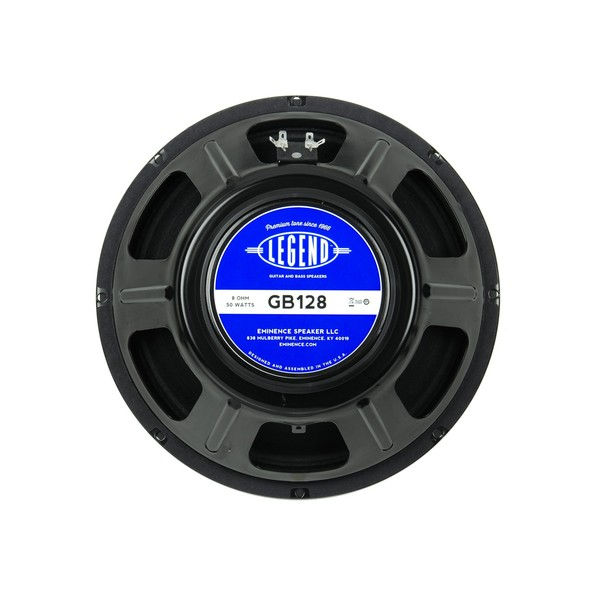 "Eminence Legend GB128, 12"", 50W, 8 Ohms rear"