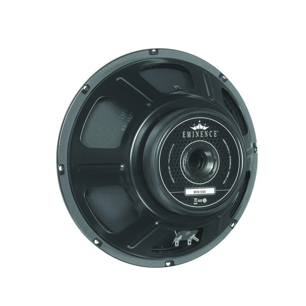 "Eminence Beta-12CXA, 12"", 250W, 8 Ohms rear"