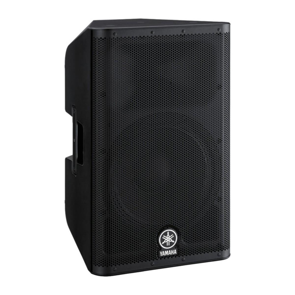 Yamaha dxr15 active pa speaker bundle at for Yamaha dj speaker
