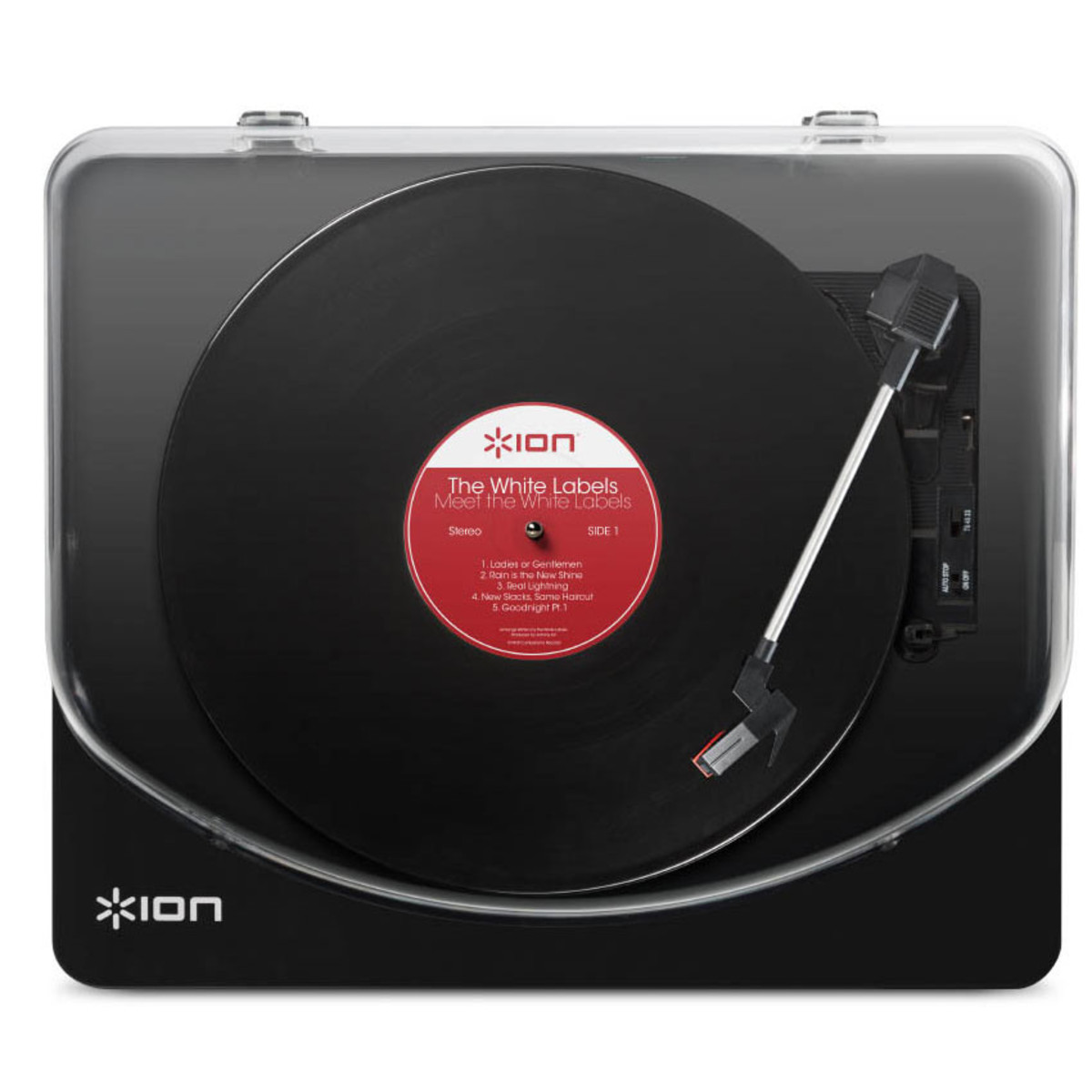 Ion Classic Lp Usb Turntable Black B Stock At Gear4music