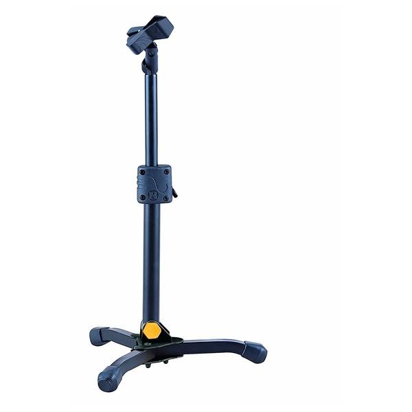 Hercules MS300B Mini Microphone Stand, With Ez Mic Clip