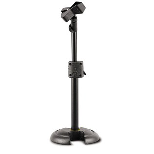 Hercules MS100 H Base Mini Microphone Stand With Ez Mic Clip