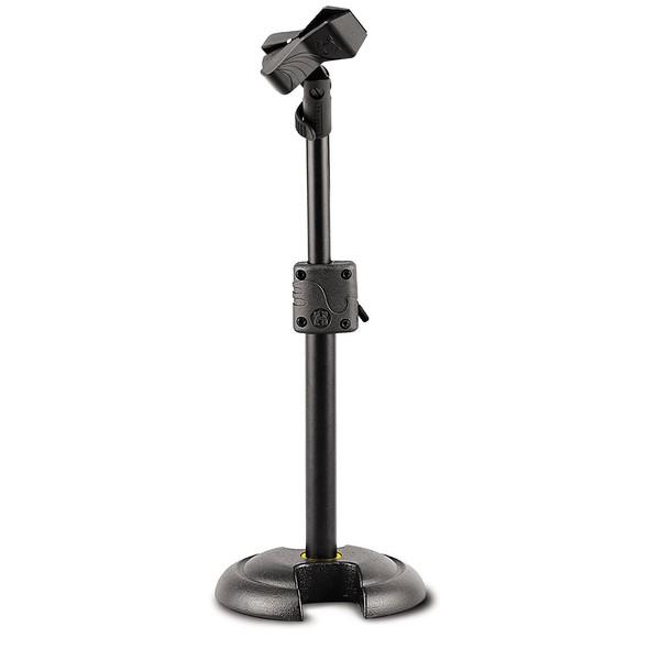 Hercules Ms100 H Base Mini Microphone Stand With Ez Mic