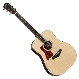 Taylor 210 Deluxe Dreadnought LH Acoustic Guitar, Natural (2017)