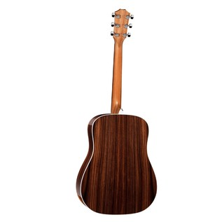 Taylor 210 Deluxe Dreadnought LH Acoustic Guitar, Natural (2017) Back