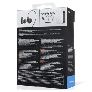 IE 60 Earphones Box Back