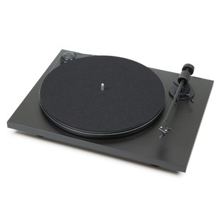 Pro-Ject Primary Turntable, Black - Angled