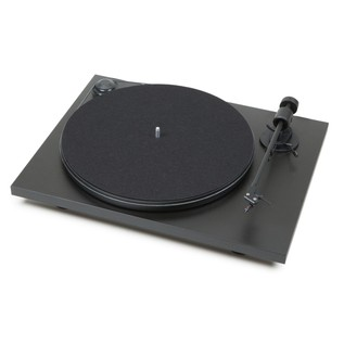 Pro-Ject Primary USB Turntable, Black - Angled