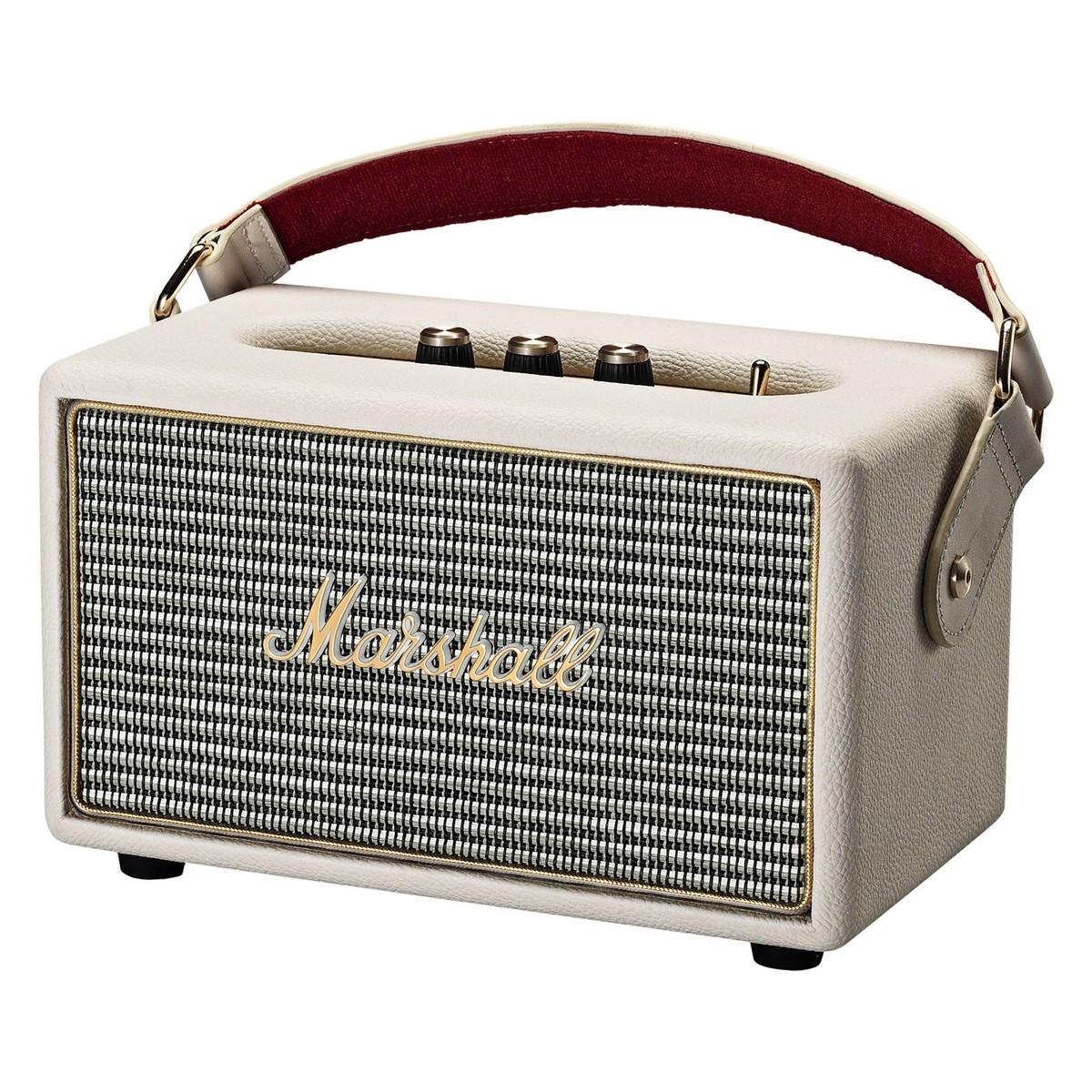 Marshall Kilburn Portable Bluetooth Speaker, Cream at