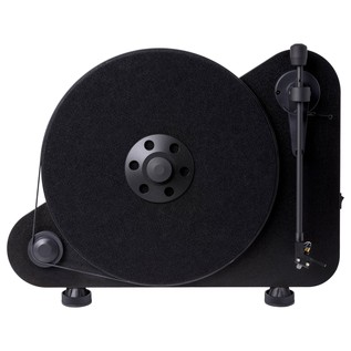 Pro-Ject VT-E Vertical Bluetooth Turntable, Black - Front