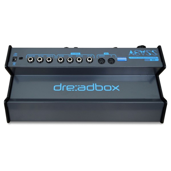 Dreadbox Abyss Analog Polyphonic Synthesizer - Rear