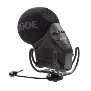 Rode Stereo Videomic Pro with Rycote Lyre Suspension