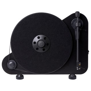 Pro-Ject VT-E Vertical Turntable, Black - Front