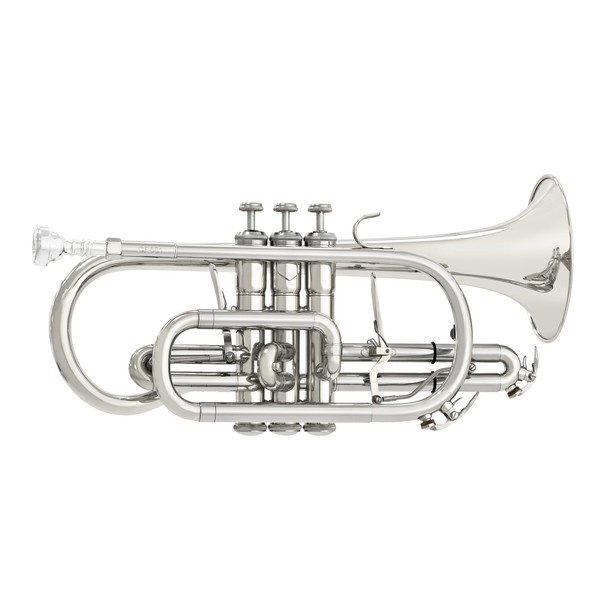 Bach CR651S Bb Cornet Outfit, Silver Plate