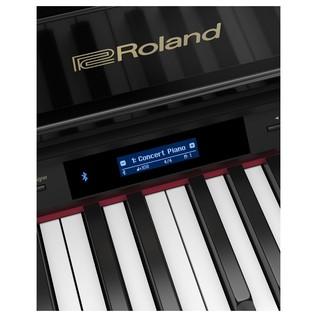 Roland GP607 Grand piano screen