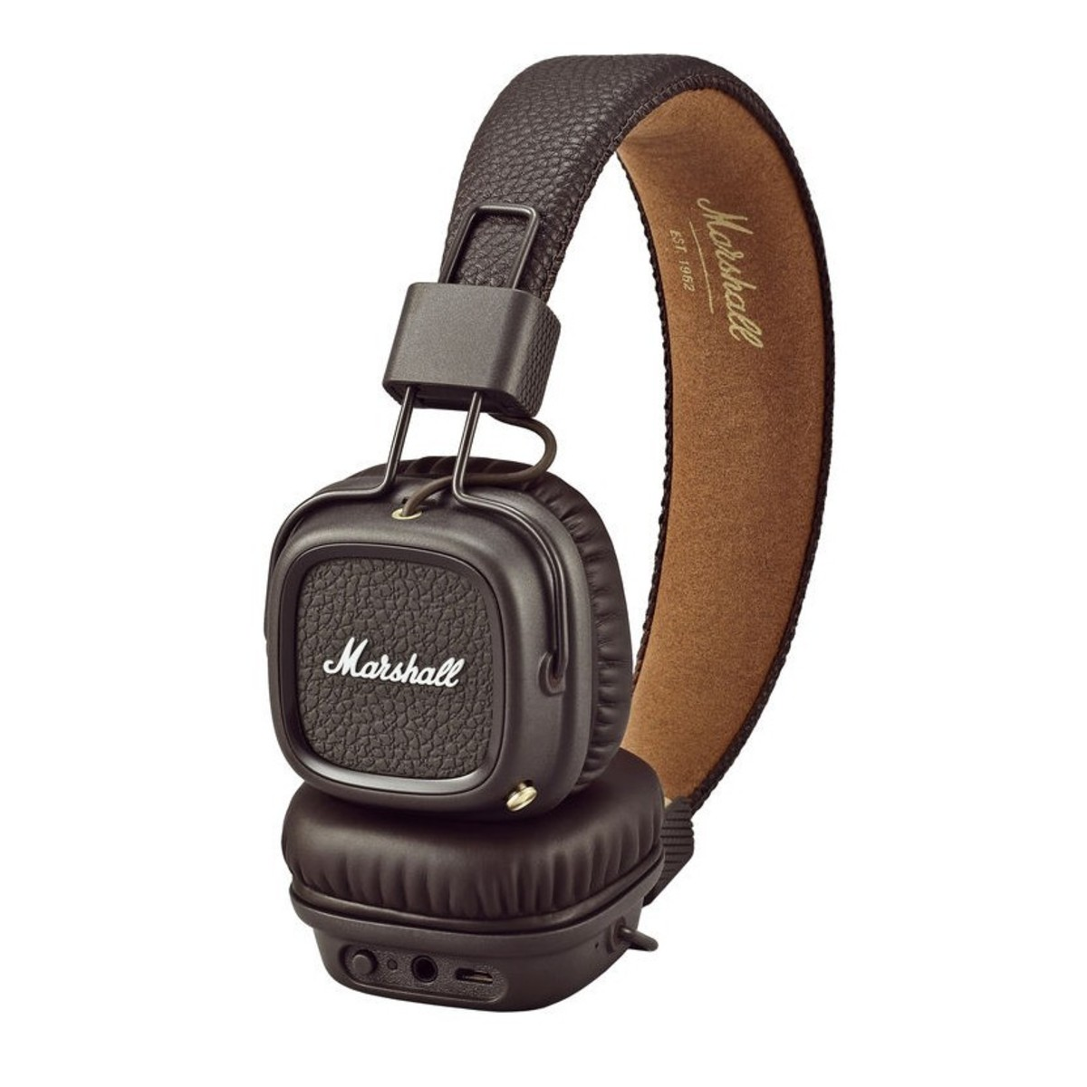 marshall major ii bluetooth casque brun. Black Bedroom Furniture Sets. Home Design Ideas