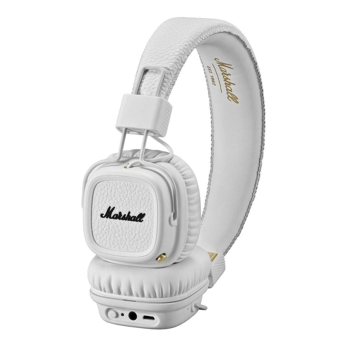 disc marshall major ii bluetooth headphones white gear4music. Black Bedroom Furniture Sets. Home Design Ideas