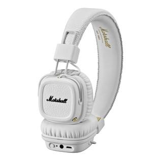 Marshall Major II Bluetooth Headphones, White