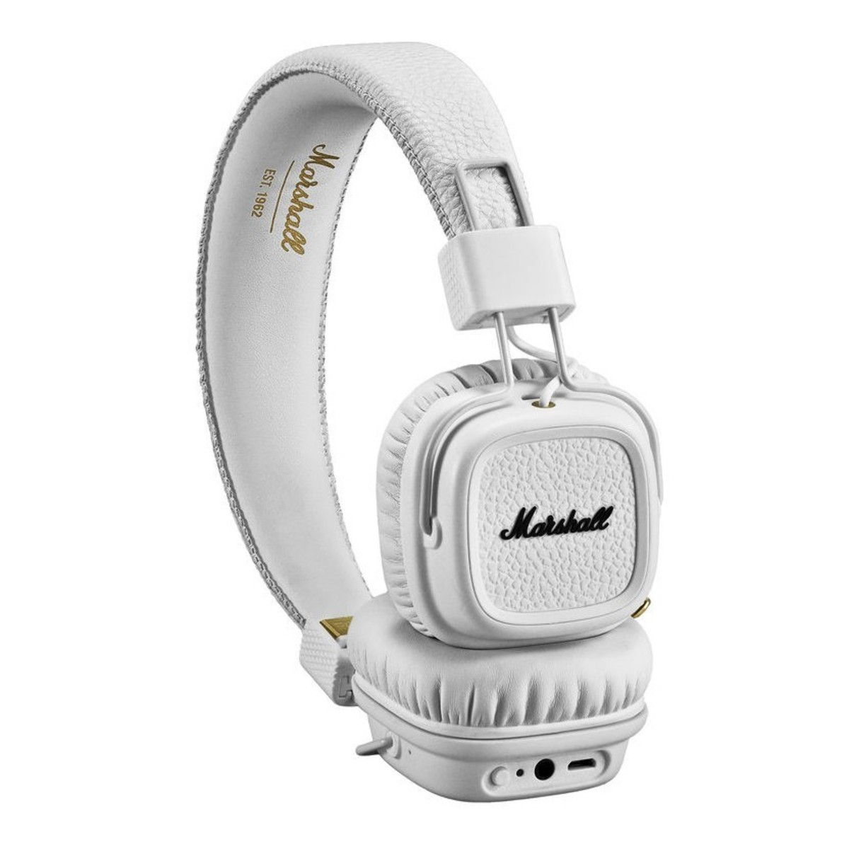 disc marshall major ii bluetooth headphones white at gear4music. Black Bedroom Furniture Sets. Home Design Ideas