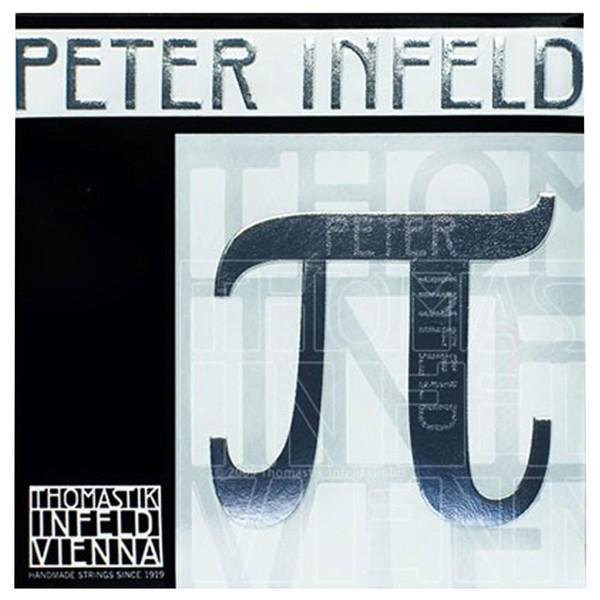 Thomastik Peter Infeld Violin String Set, Tin Plated E, 4/4 Size