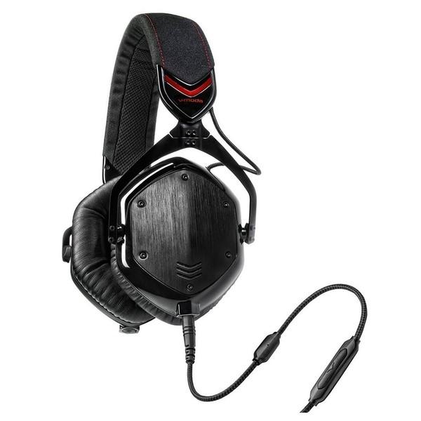V-Moda M-100 Crossfade Headphones, Shadow - Angled