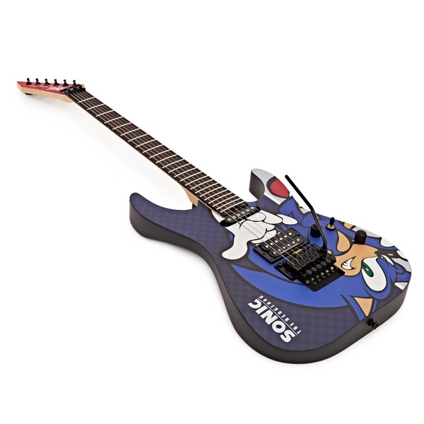 disc esp sn 25th sonic the hedgehog guitar ii gear4music. Black Bedroom Furniture Sets. Home Design Ideas