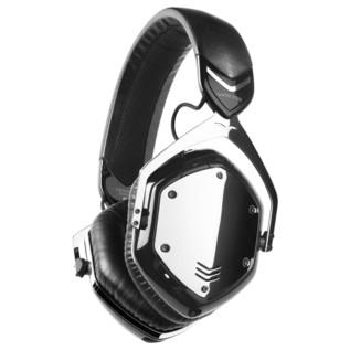 V-Moda Crossfade Wireless Bluetooth Headphones, Phantom Chrome - Angled