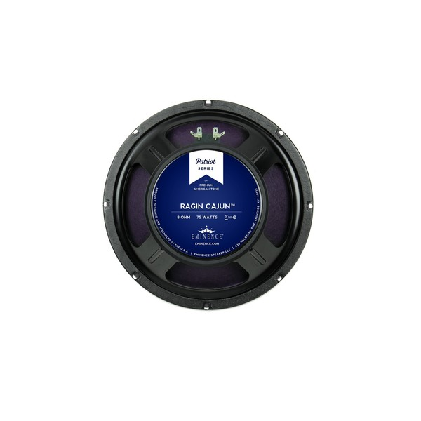 "Eminence Ragin Cajun, 12"", 150W, 8 Ohms rear"