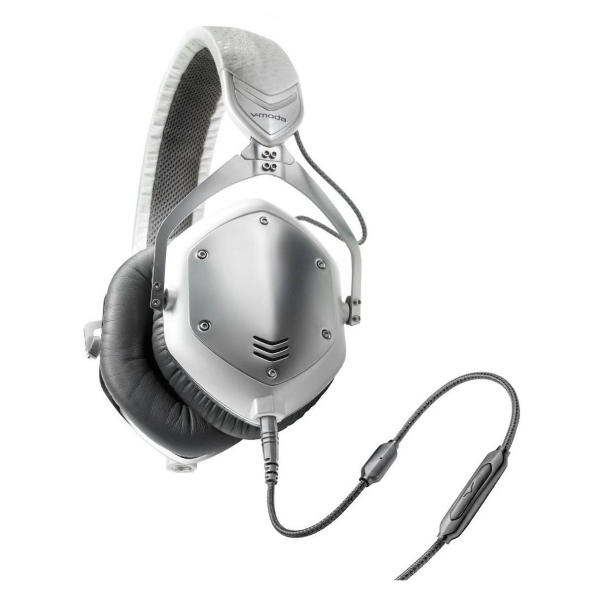 Shop now | V-Moda M-100 Crossfade Headphones, White Silver