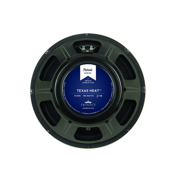 "Eminence Texas Heat, 12"", 150W, 8 Ohms rear"