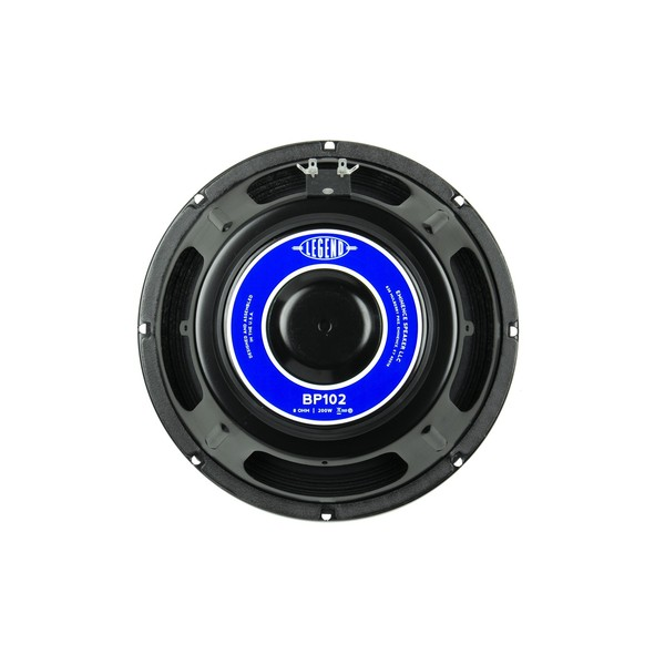 "Eminence Legend BP102, 10"", 200W, 8 Ohms rear"