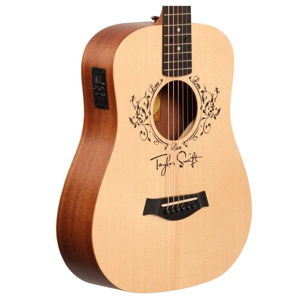 taylor swift baby taylor ts bte travel electro acoustic guitar at gear4music. Black Bedroom Furniture Sets. Home Design Ideas