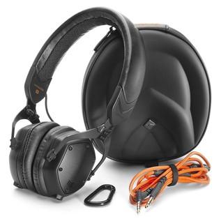 V-Moda XS On-Ear Headphones, Matte Black - Full Contents