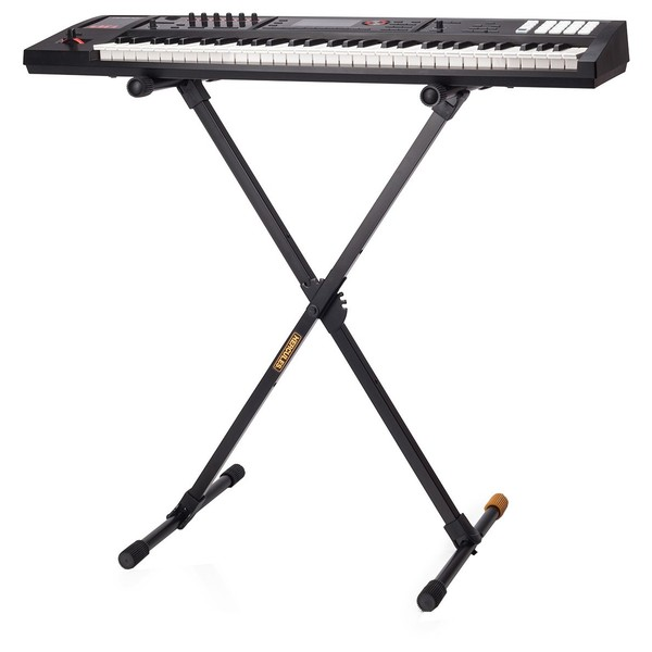 Hercules KS118B Travlite Keyboard Stand With Keyboard