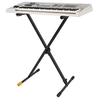 Hercules KS100B EZ Clutch Stage Series Keyboard Stand With Keyboard