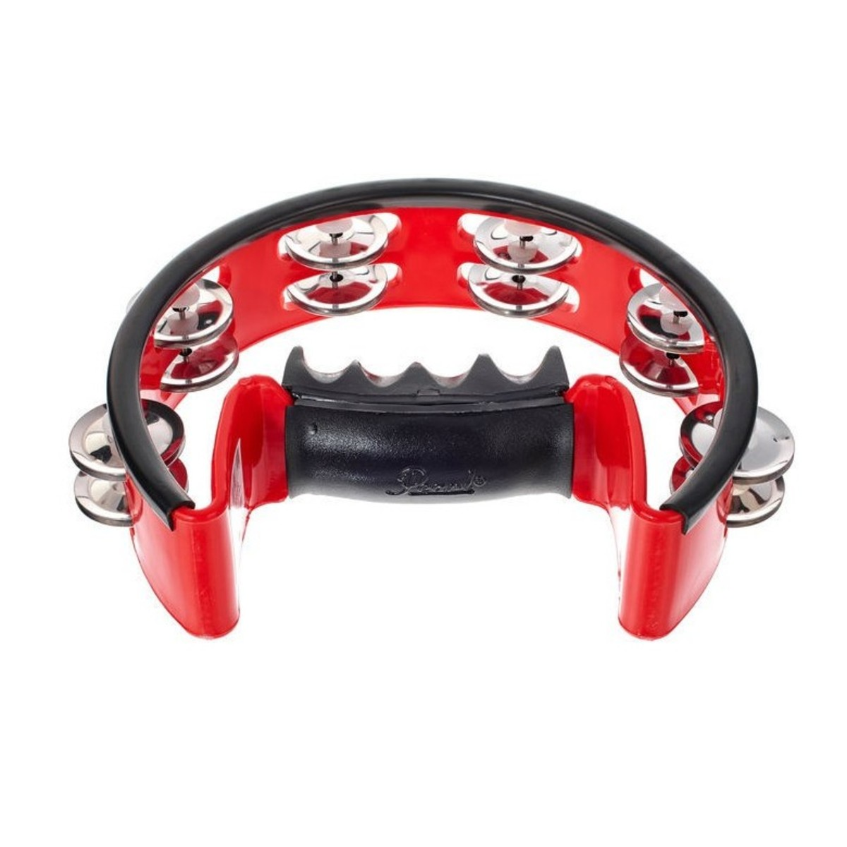 Click to view product details and reviews for Pearl Ultragrip Adj Volume Tambourine Steel Jingles.