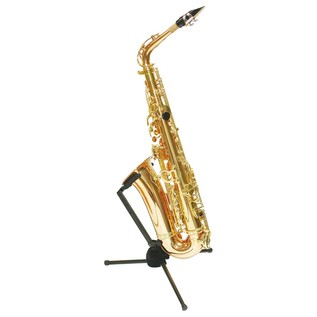 Hercules DS431B Travlite Alto Saxophone Stand With Saxophone